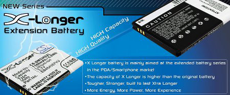 Buy extened life batteries