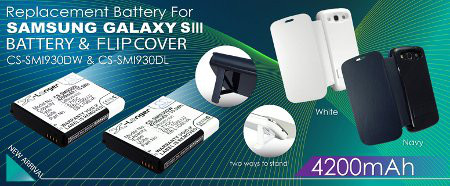 Buy Galaxy s3 batteries